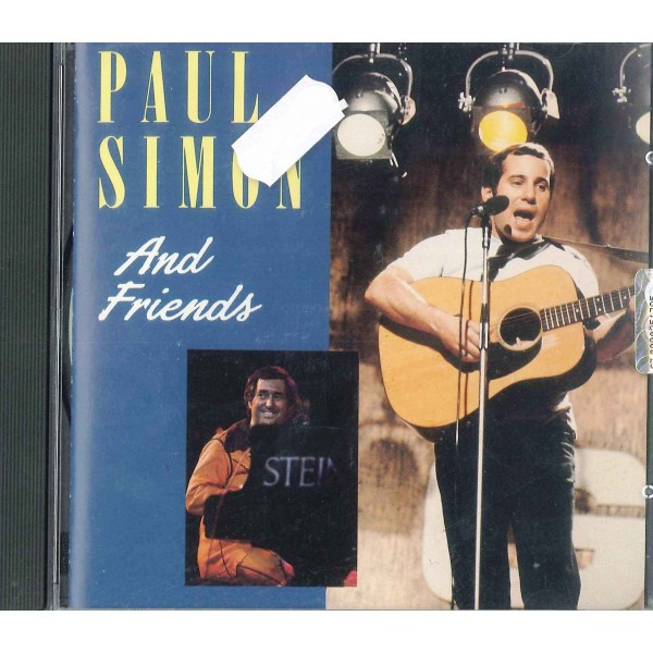 CD PAUL SIMON- AND FRIENDS 5014797150744