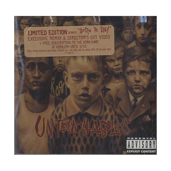CD Korn-untouchables (limited edition)