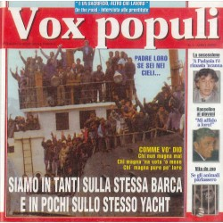 CD Vox Populi – Siamo In Tanti Sulla Stessa Barca E In Pochi Sullo Stesso Yacht 0743214556429