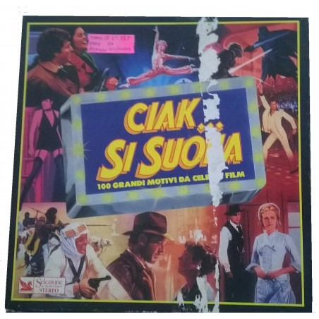 LP CIAK SI SUONA 100 GRANDI MOTIVI DA CELEBRI FILM (7 LP)