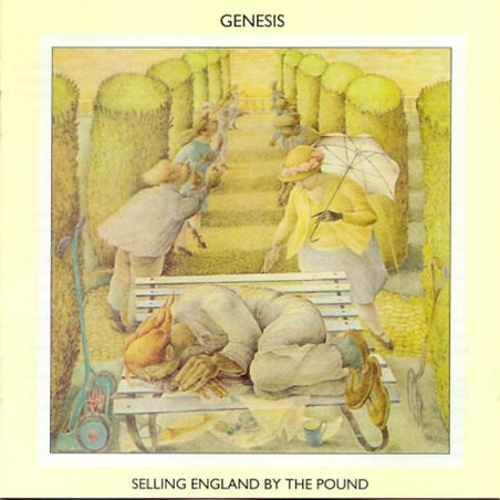 CD Genesis-selling england by the pound 075678267529