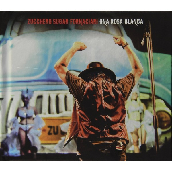 CD ZUCCHERO Una Rosa Blanca (2CD+DVD) - 602537642588