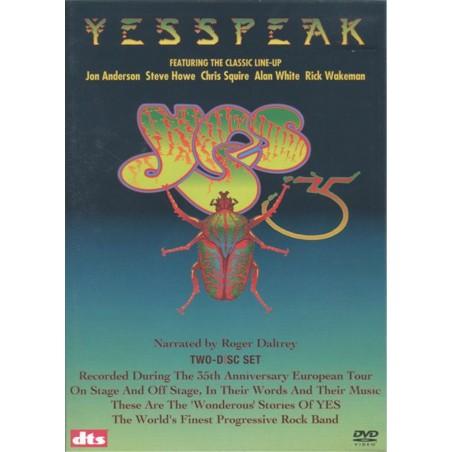 DVD YESSPEAK - YES 2DVD 825646311125