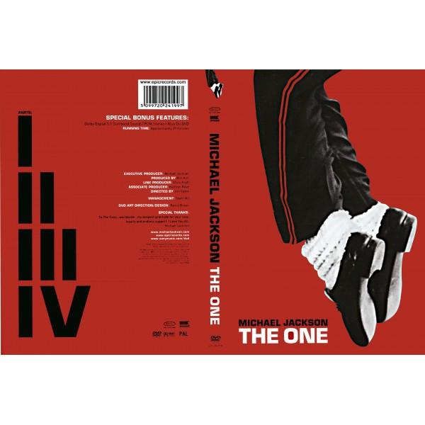 DVD MICHAEL JACKSON - THE ONE 5099720241997
