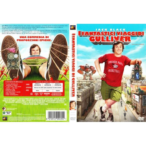DVD JACK BLACK- I FANTASTICI VIAGGI DI GULLIVER 8010312094392