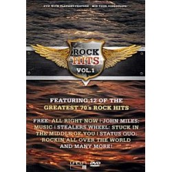DVD ROCK HITS VOL. 1 - GREATEST 70'S ROCK HITS 801735404084