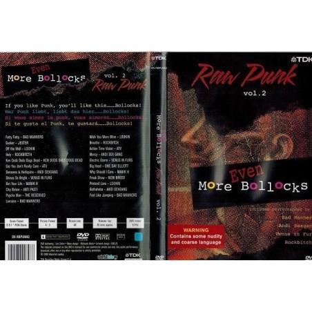 DVD RAW PUNK- EVEN MORE BOLLOCKS VOL. 2 5450270008278