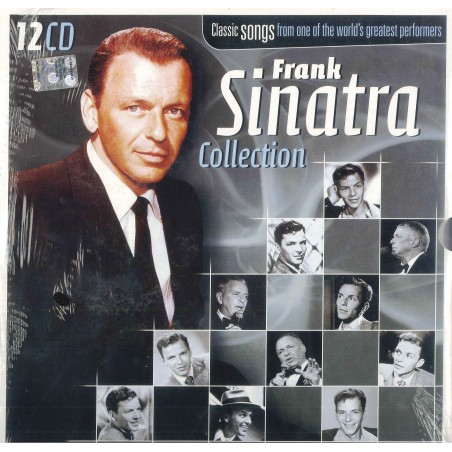 CD FRANK SINATRA COLLECTION - CLASSIC SONGS FROM ONE OF THE WORLD'S GREATEST PERMORMERS (12 cd) 8717423047889