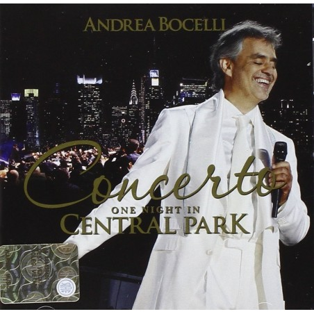 CD Andrea Bocelli Concerto - One Night in Central Park - 8033120983047
