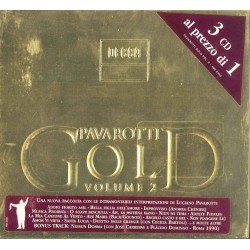 CD PAVAROTTI GOLD VOLUME 2 (3 CD) 028948024605