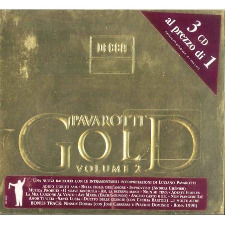 CD PAVAROTTI GOLD VOLUME 2 (3 CD) 028948024605