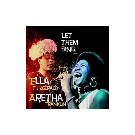 CD LET THEM SING ELLA FITZGERALD / ARETHA FRANKLIN (2CD) 8594058695988