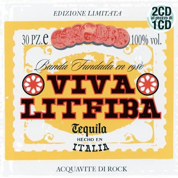 CD Litfiba- viva litfiba 706301945124