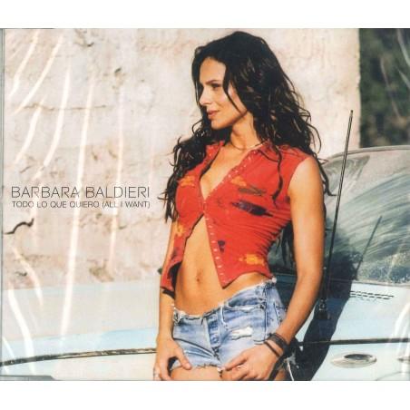 CDs BARBARA BALDIERI - TODO LO QUE QUEIERO (ALL I WANT) 8032632250081