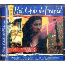 CD THE BEST OF HOT CLUB DE FRANCE (volume 3) 5029365600323