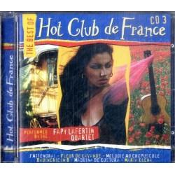 CD THE BEST OF HOT CLUB DE FRANCE (volume 3) 5029365600323