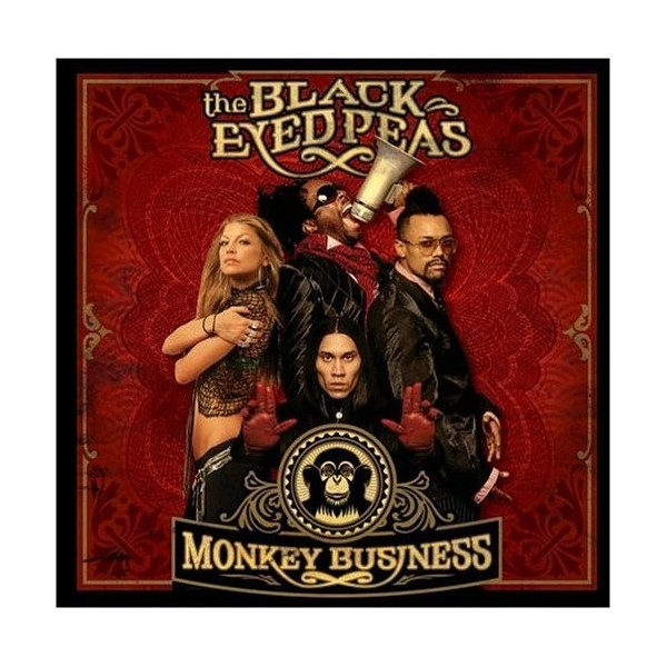 CD THE BLACK EYED PEASE - MONKEY BUSINESS (SLIDEPAC) 602498372425