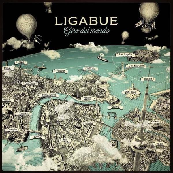 CD LIGABUE - GIRO DEL MONDO (2CD+1DVD) 8055965960403