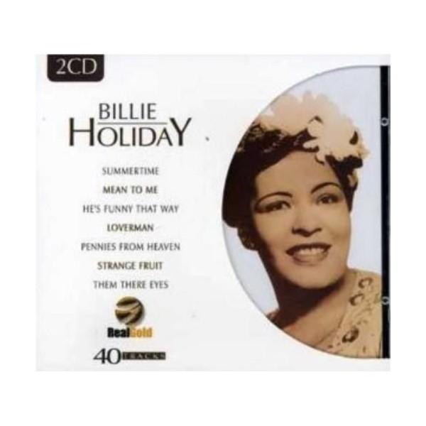 CD BILLIE HOLIDAY (2CD) Real Gold 8712155093319