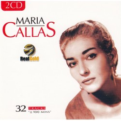 CD MARIA CALLAS - REAL GOLD (2CD) 8712155092602