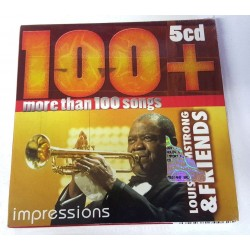 CD LOUIS ARMSTRONG & FRIENDS - IMPRESSIONS (5CD) 8595562700625
