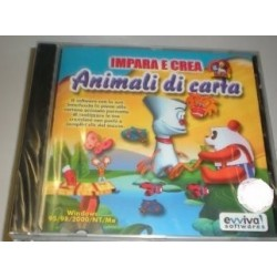 CD-ROM IMPARA E CREA - ANIMALI DI CARTA - FINSON8015126161056