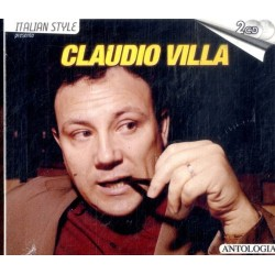CD CLAUDIO VILLA - ANTOLOGIA (2CD) 8026877110958
