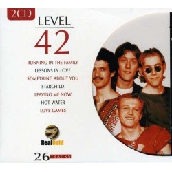 CD LEVEL 42 - REAL GOLD (2CD) 8712155103582