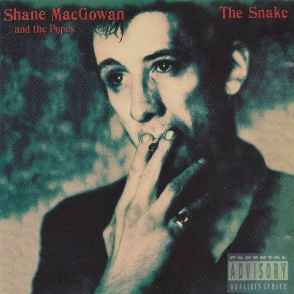 CD Shane Macgowan and the popes- the snake 745099810429