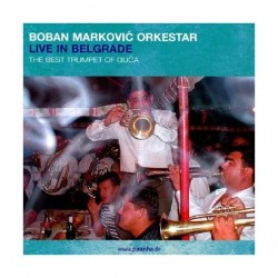 CD BOBAN MARKOVIC', LIVE IN BELGRADE