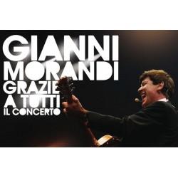 CD Gianni Morandi- grazie a tutti il concerto CD+DVD 886975782826