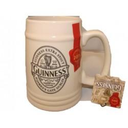 BOCCALE Guinness Extra Stout Ceramic Printed Tankard RARA -5390711605997