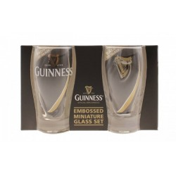 Guinness Gravity Mini Pint Glass 2pk-5390711606178