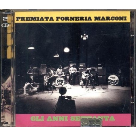 CD PFM- Premiata Forneria Marconi - gli anni settanta - doppio cd 743216026524