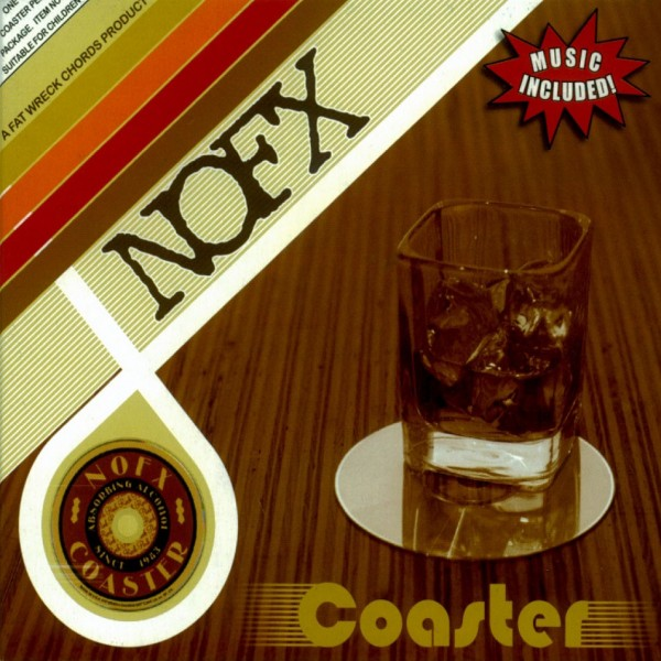 CD NOFX- Coaster 751097073728