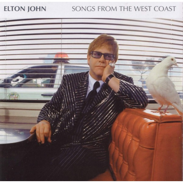 CD Elton John- songs from the west coast - doppio cd 044006308708