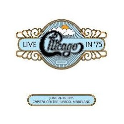 CD CHICAGO LIVE IN CHICAGO '75 XXXIV 081227955977