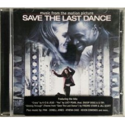 CD MUSIC FROM THE MOTION PICTURE SAVE THE LAST DANCE 094635798524