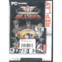 CD-ROM FREEDOM FORCE THE 3RD REICH 3512289010337