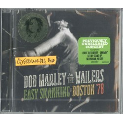 CD BOB MARLEY & THE WAILERS EASY SKANKING IN BOSTON '78 602547165787