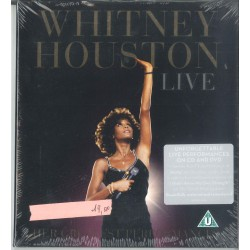 CD WHITNEY HOUSTON LIVE THE GREATEST PERFORMANCES 888750028129