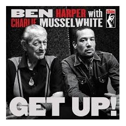 CD BEN HARPER WITH CHARLIE MUSSELWHITE GET UP! 888072338746