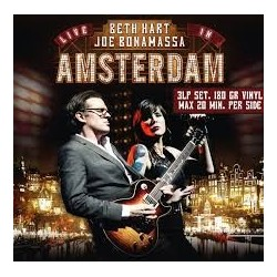 CD BETH HART & JOE BONAMASSA LIVE IN AMSTERDAM 819873010777