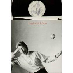 LP HUEY LEWIS & THE NEWS SMALL WORLD