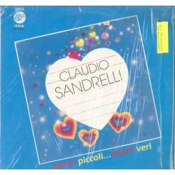LP CLAUDIO SANDRELLI AMORI PICCOLI...AMORI VERI