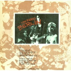 CD Lou Reed-berlin 886971041620