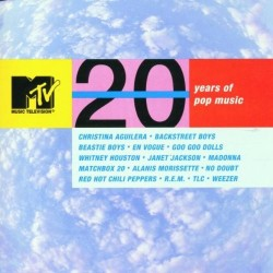 CD MTV 20 YEARS OF POP MUSIC 093624814429
