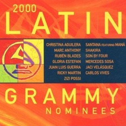 CD 2000 LATIN GRAMMY NOMINEES 5099750069929