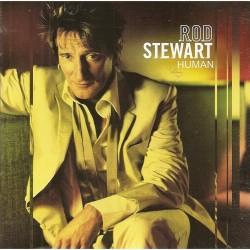 CD Rod Stewart- human 075678341120
