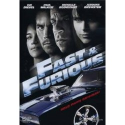 DVD FAST & FURIOUS SOLO PARTI ORIGINALI